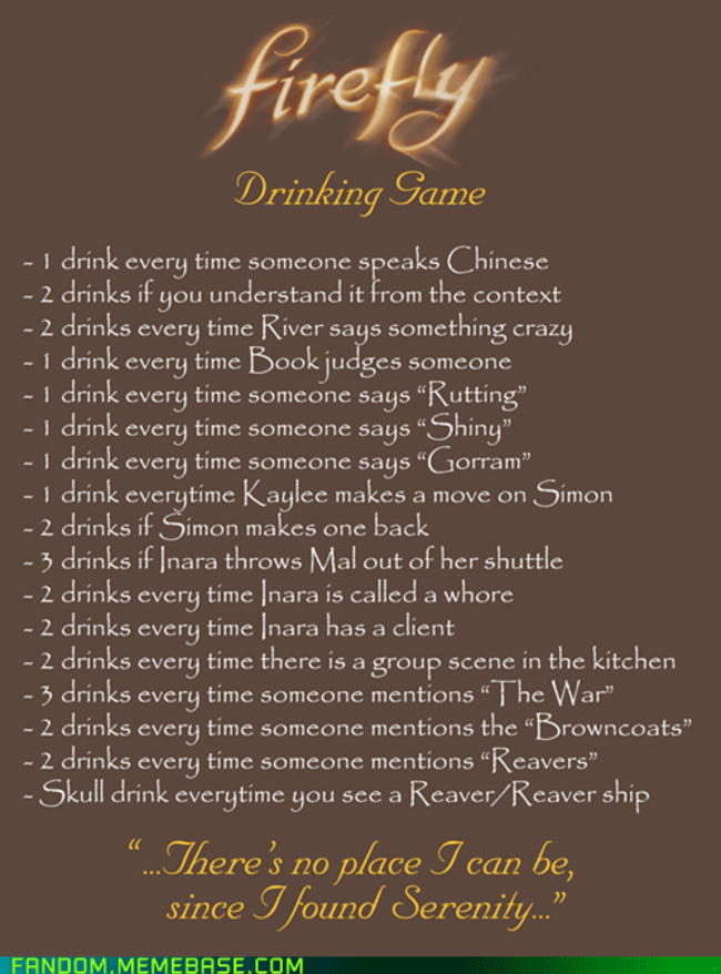 Great drinking games 2