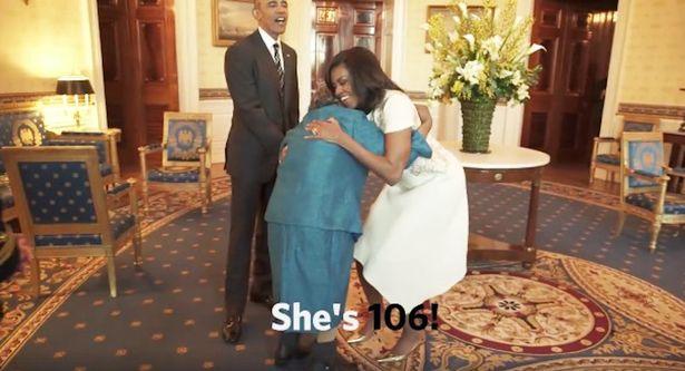 Barack Obama's Biggest Fan Is a 106 Year Old Women 1