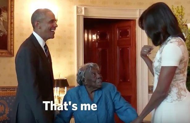 Barack Obama's Biggest Fan Is a 106 Year Old Women 2