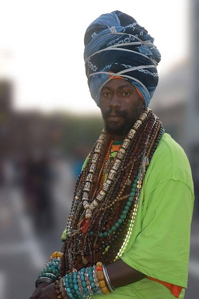Chinese Rastafarian 65 Cultural por...
