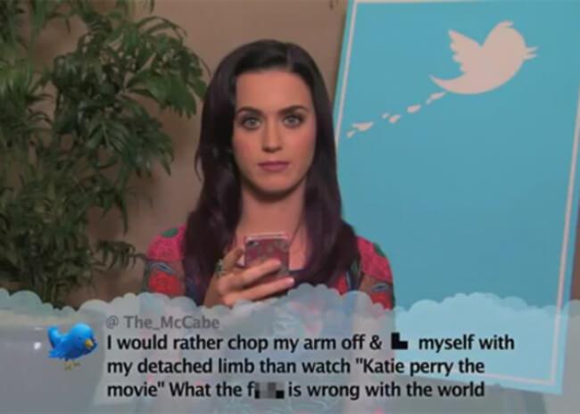 celebrity Mean Tweets 21