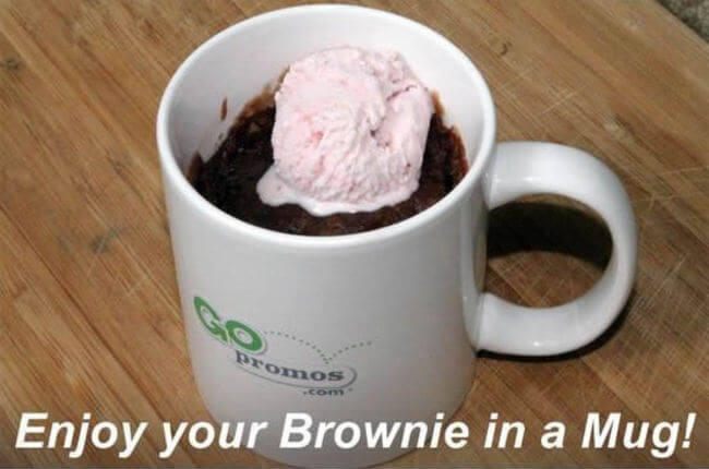 brownie in a mug 8