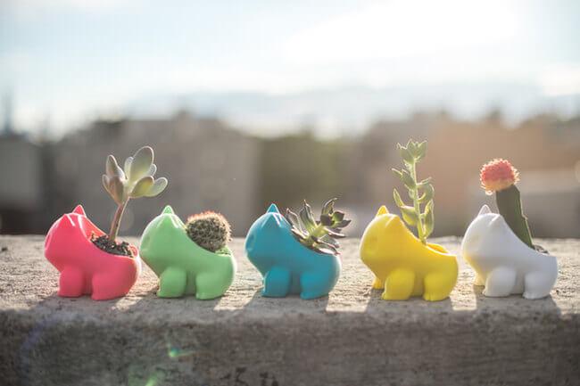 3D Printed Planters 1