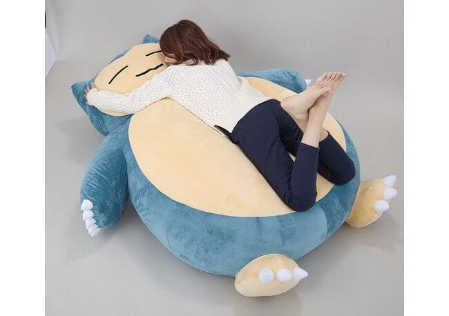 giant snorlax cushion 1