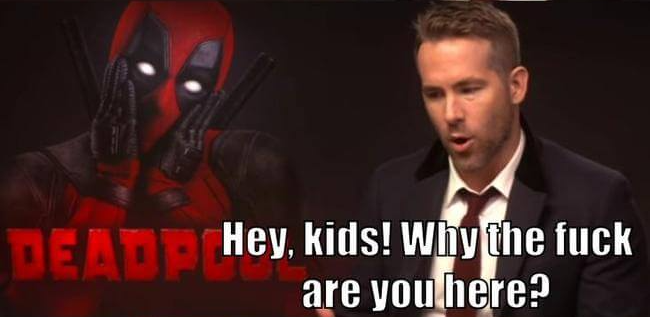 Taking Your Kids To See Deadpool 2