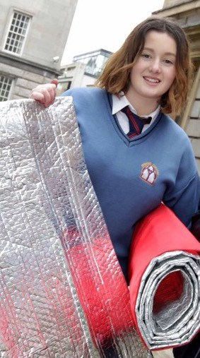 Teen Invents Fireproof And Rain Proof Sleeping Bags