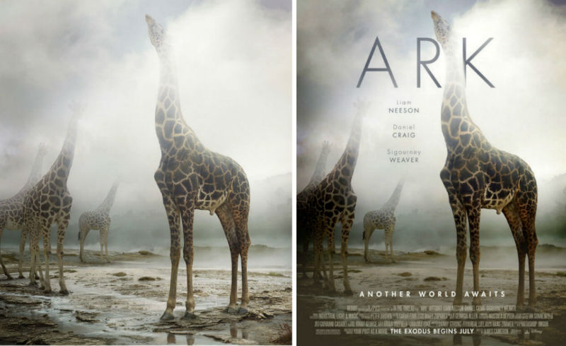 everyday photos turned into movie posters 2