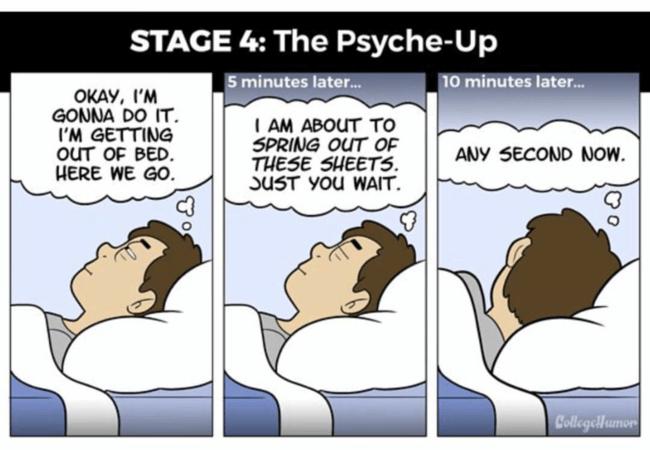 waking up 4