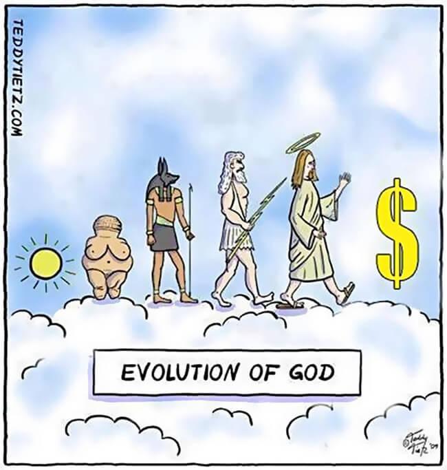 evolution cartoons 6