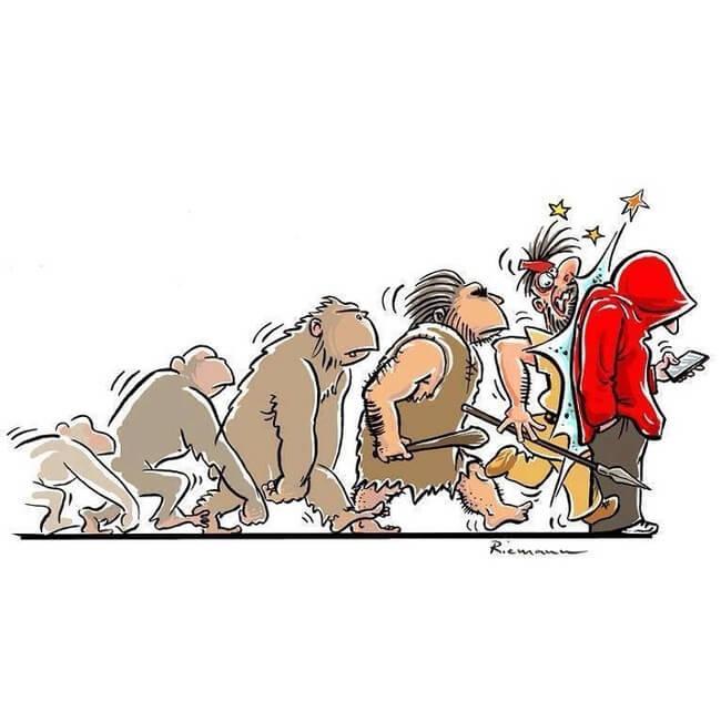 funny evolution 8
