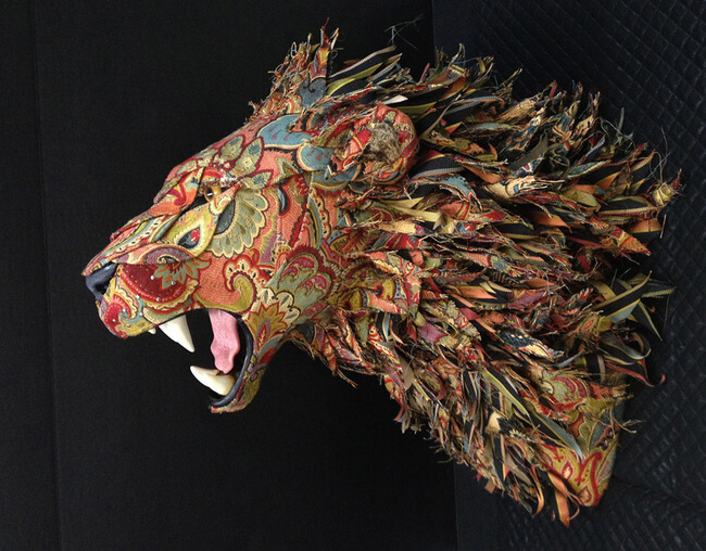 Replica Of Taxidermy Heads And Animals 1