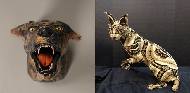 Replica Of Taxidermy Heads And Animals 2