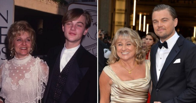 leonardo diCaprio's mother 1