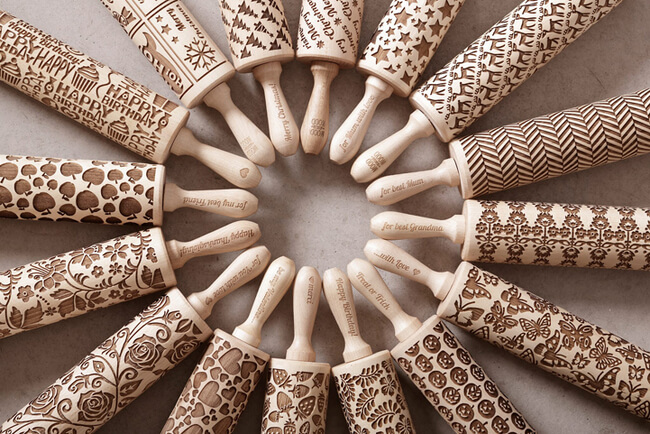 Embossed Rolling Pins 2