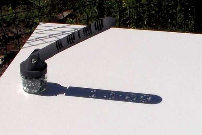 3d printed sundial 4