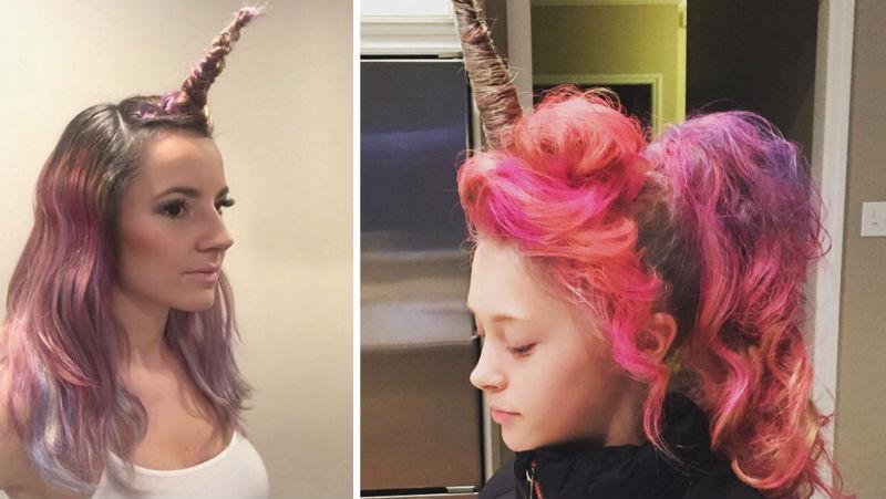unicorn hair trend feat