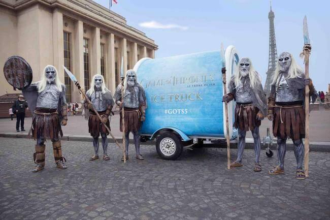 Game of Thrones Ice Cream Truck 1