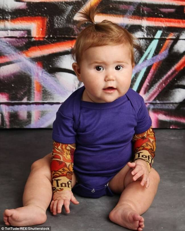 tattoo sleeves for BABIES 1