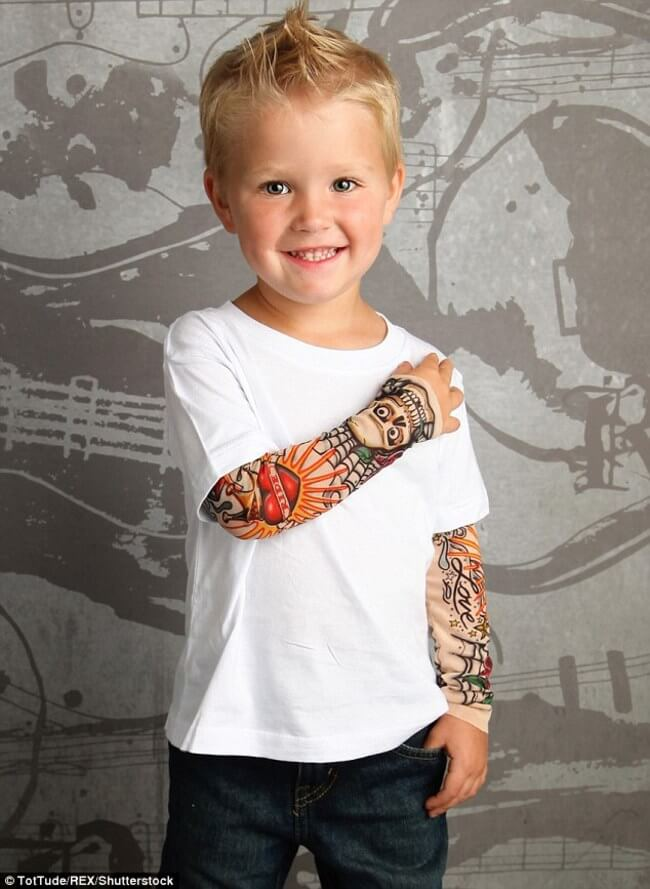 tattoo sleeve for BABIES 8