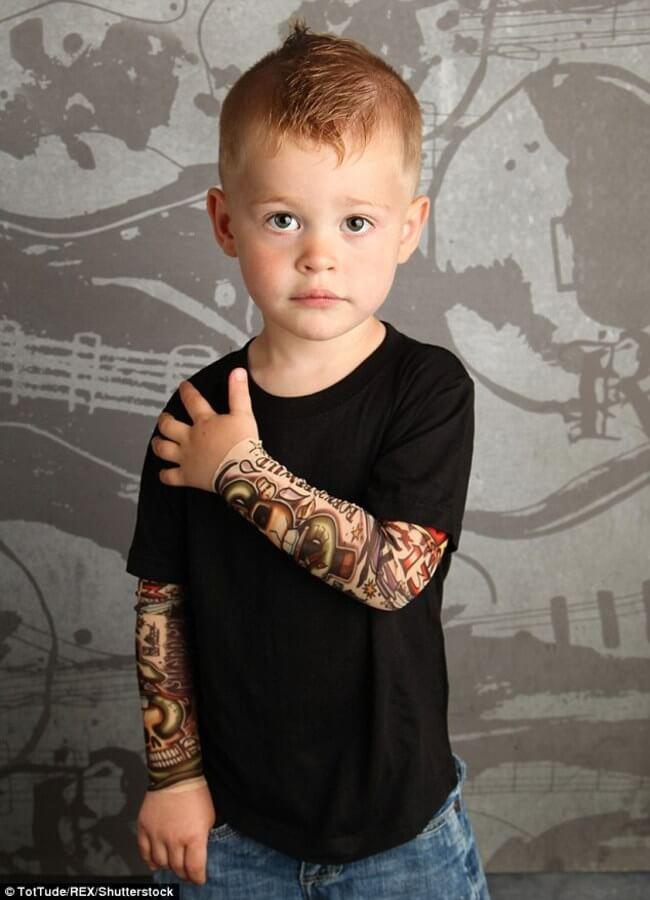 tattoo sleeve for BABIES 6