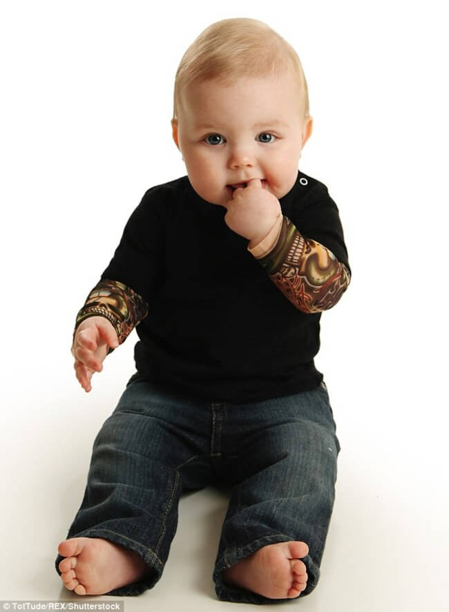 tattoo sleeves for BABIES 11