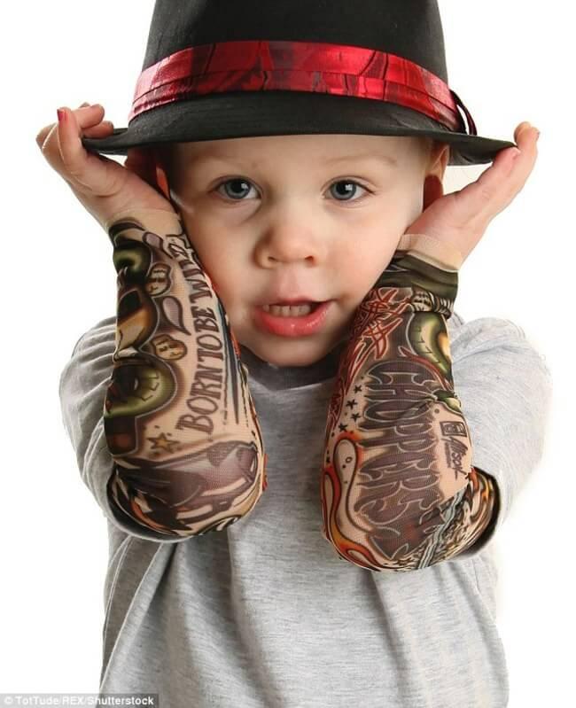 tattoo sleeve for BABIES 7
