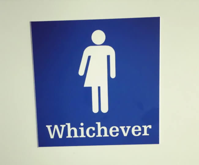 Creative Bathroom Sign 18