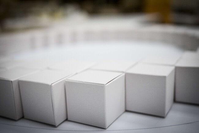 35,000 Handmade Paper Cubes 6