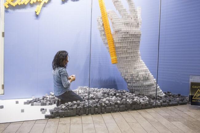 35,000 Handmade Paper Cubes 1