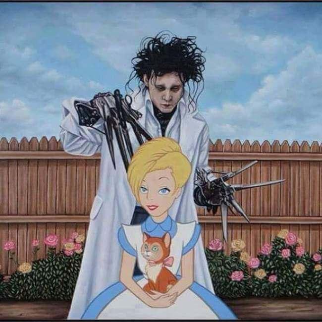 What Happens When Disney Characters Meet Hollywoods Dark Side - The dark side of disney