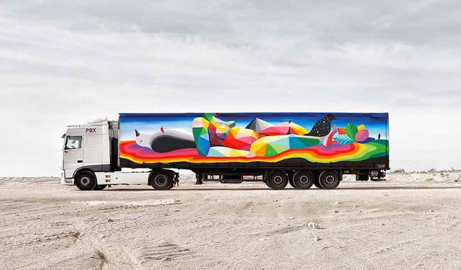 trucks art 1