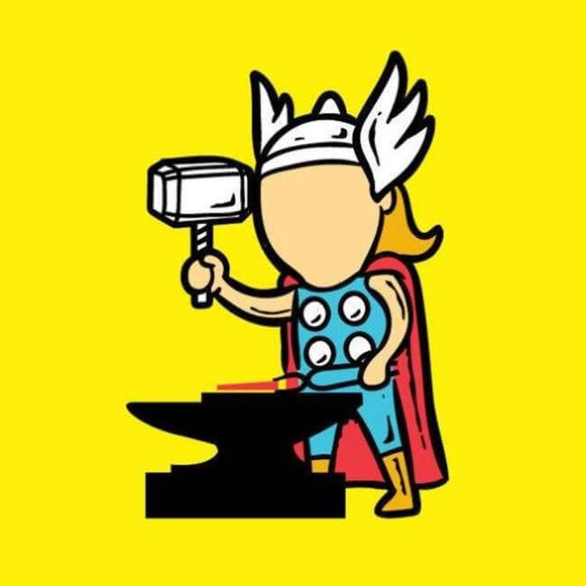 superhero day jobs 4