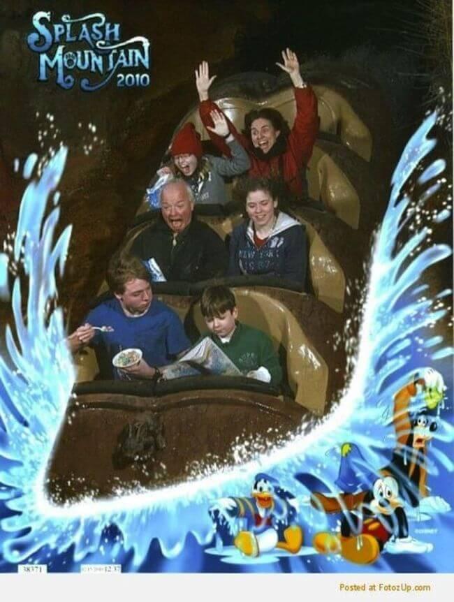 Splash Mountain pics 1