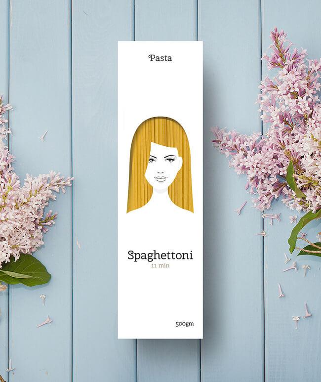 creative packaging design of pasta 3