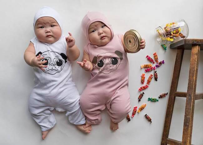 cute twins baby photos 10