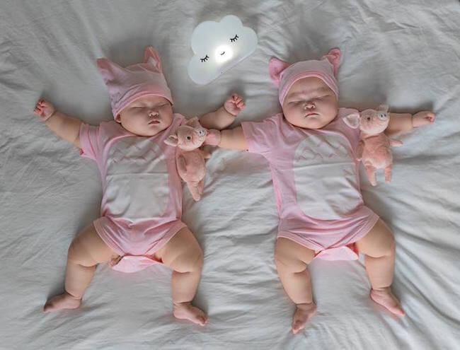 Premature Twin Girls 18