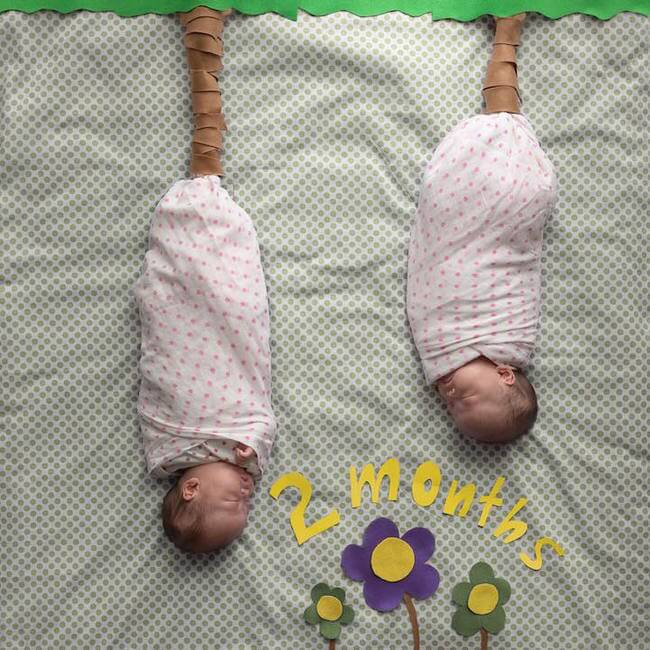 cute twins baby photos 4