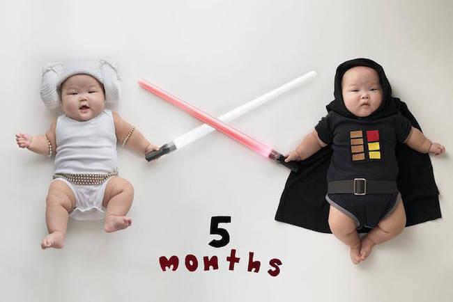 cute twins baby photos 12