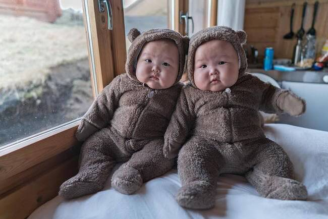cute twins baby photos 3