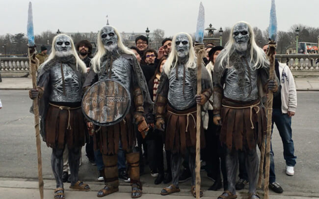 Game Of Thrones White Walkers 4
