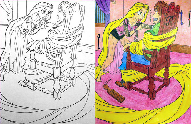 funny coloring book 5