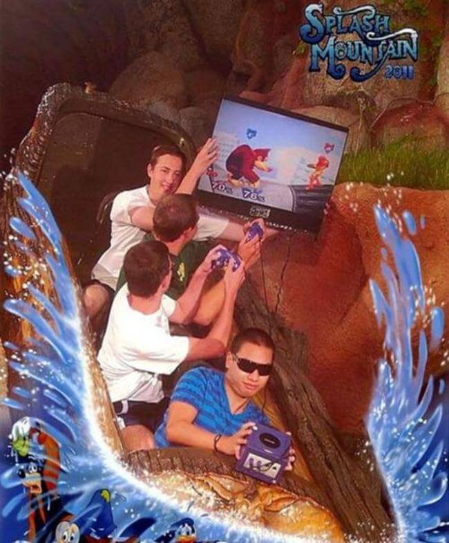 25 Splash Mountain Pics That Are So Funny They Should Get
