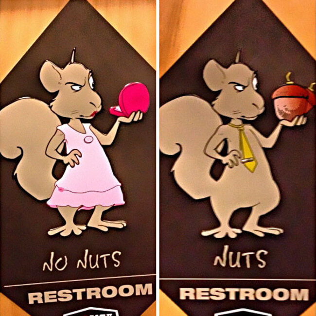 Creative Bathroom Signs 29