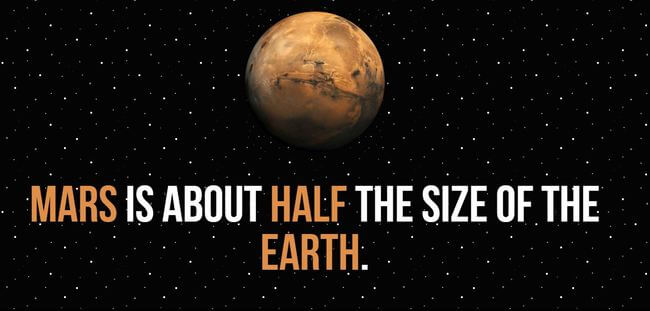 facts about mars 11