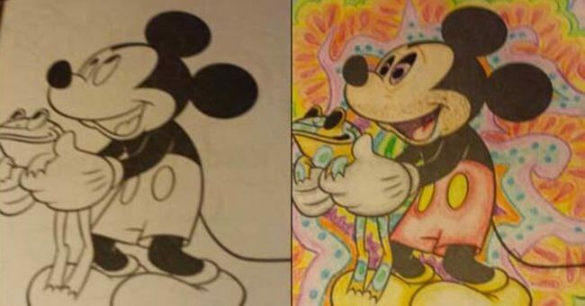 funny coloring book 3