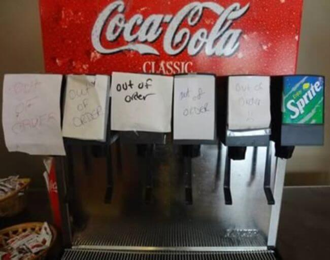 26 Examples Of The Out Of Order Sign That Will Get You So ...