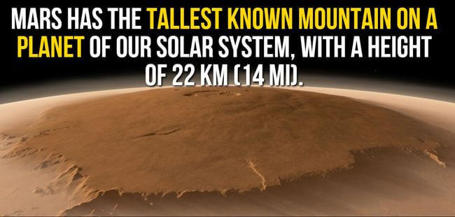 facts about mars 4