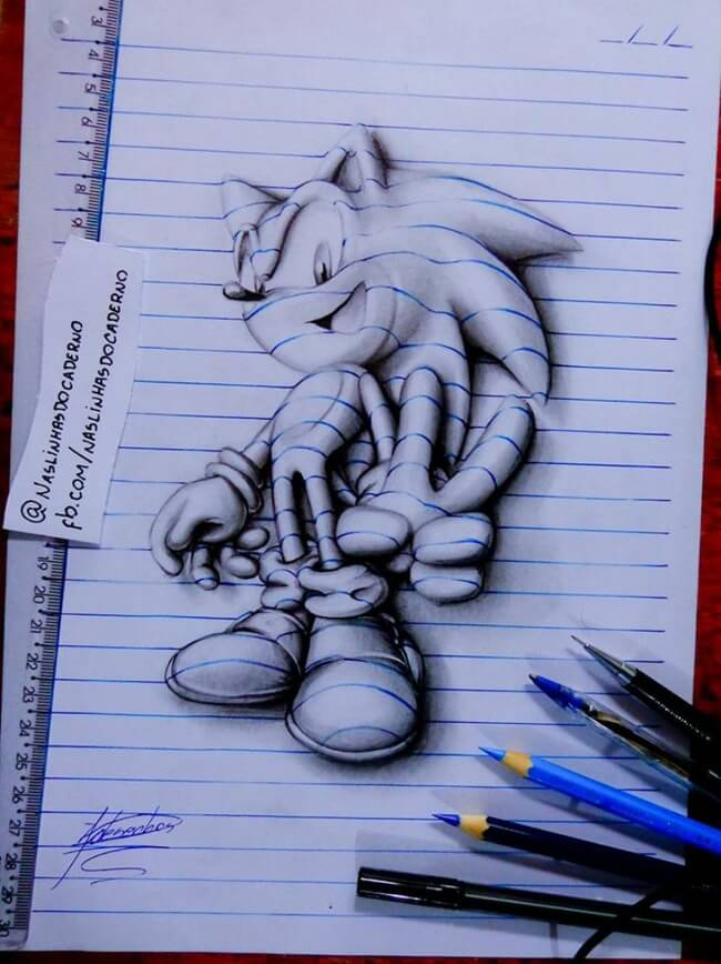 3D Notebook Drawing 13