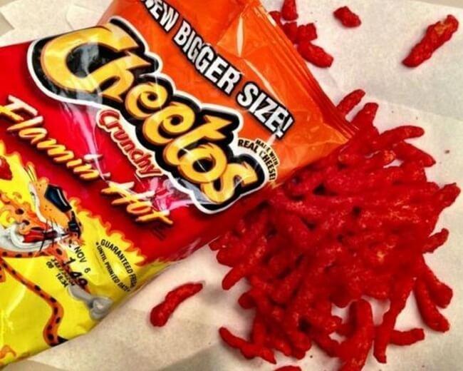 flaming hot cheetos 4