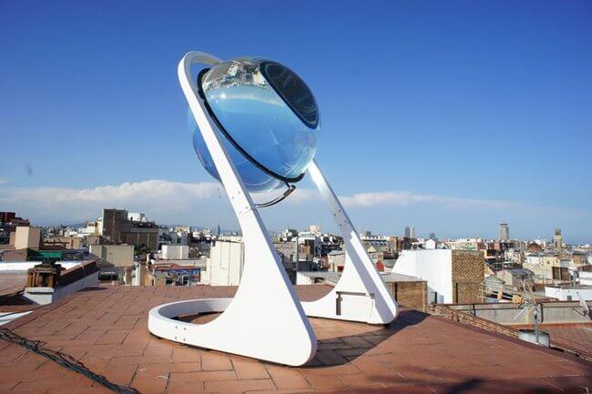 glass sphere solar power 22